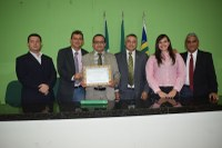 A Câmara concedeu título de cidadania ao contabilista Iranildo Lima do Vale