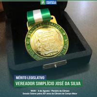 Câmara entregará Mérito Legislativo nas comemorações pelos seus 257 anos; Conheça os homenageados