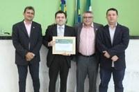 Câmara Legislativa concede título de cidadania a promotor de justiça de Campo Maior