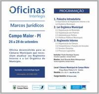 Câmara Municipal de Campo Maior Realizará oficina  Interllegis