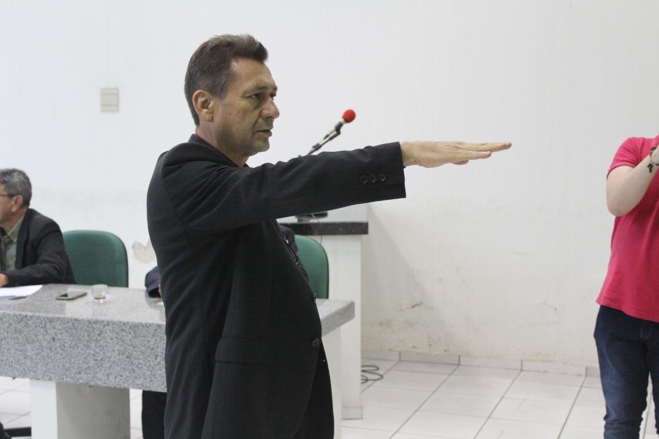 João Maroca toma posse como vereador titular da Câmara de Campo Maior