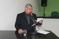 José Flávio Furtado Marinho recebe título de cidadania campomaiorense na Câmara Muncipal