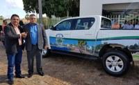 A Câmara de Campo Maior recebeu na manhã desta quarta (24) dois veículos