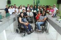 Solenidade em alusão à Semana Nacional da Pessoa com Deficiência é realizada na Câmara de Campo Maior