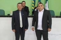 Vereadores Zé Pereira e Raimundo Parente tomam posse na Câmara de Campo Maior